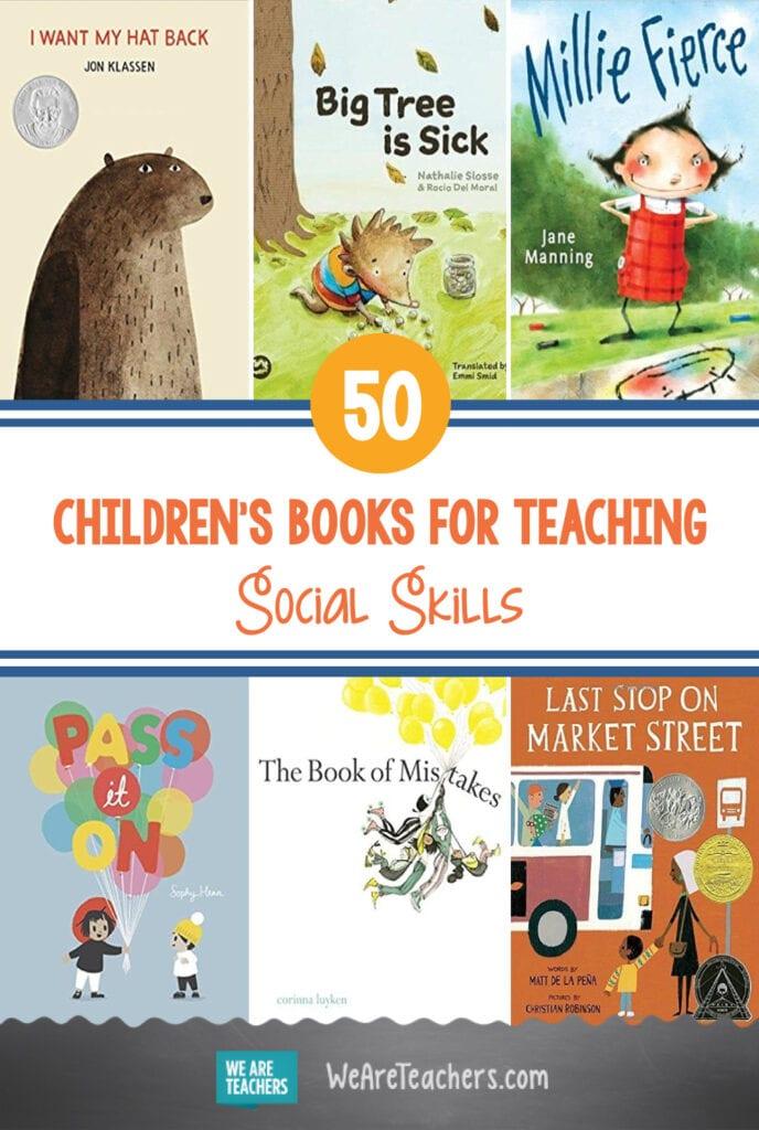 50 Children's Books for Teaching Social Skills