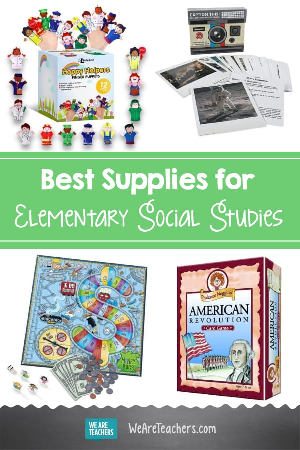 46 Awesome Supplies for Elementary Social Studies