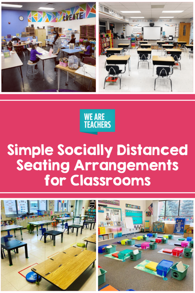 10 Simple Socially Distanced Seating Arrangements for Classrooms