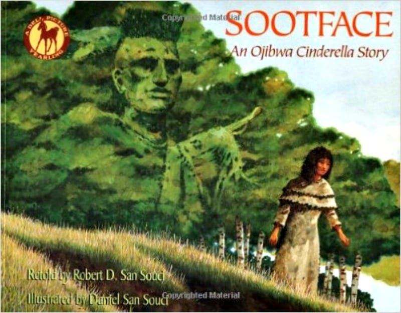 book cover of Sootface: An Ojibwe Cinderella Story
