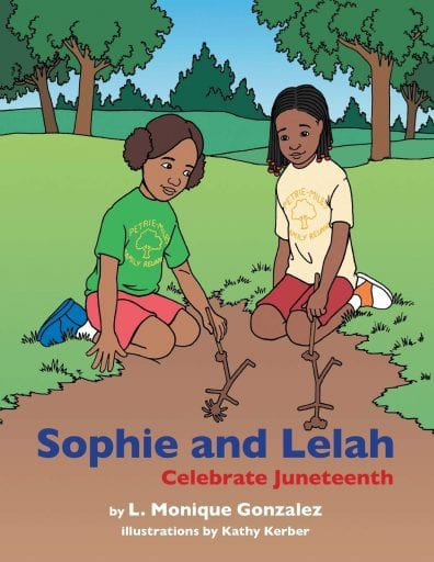 Sophie and Lelah Celebrate Juneteenth