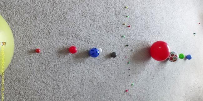 Activités spatiales pour les enfants