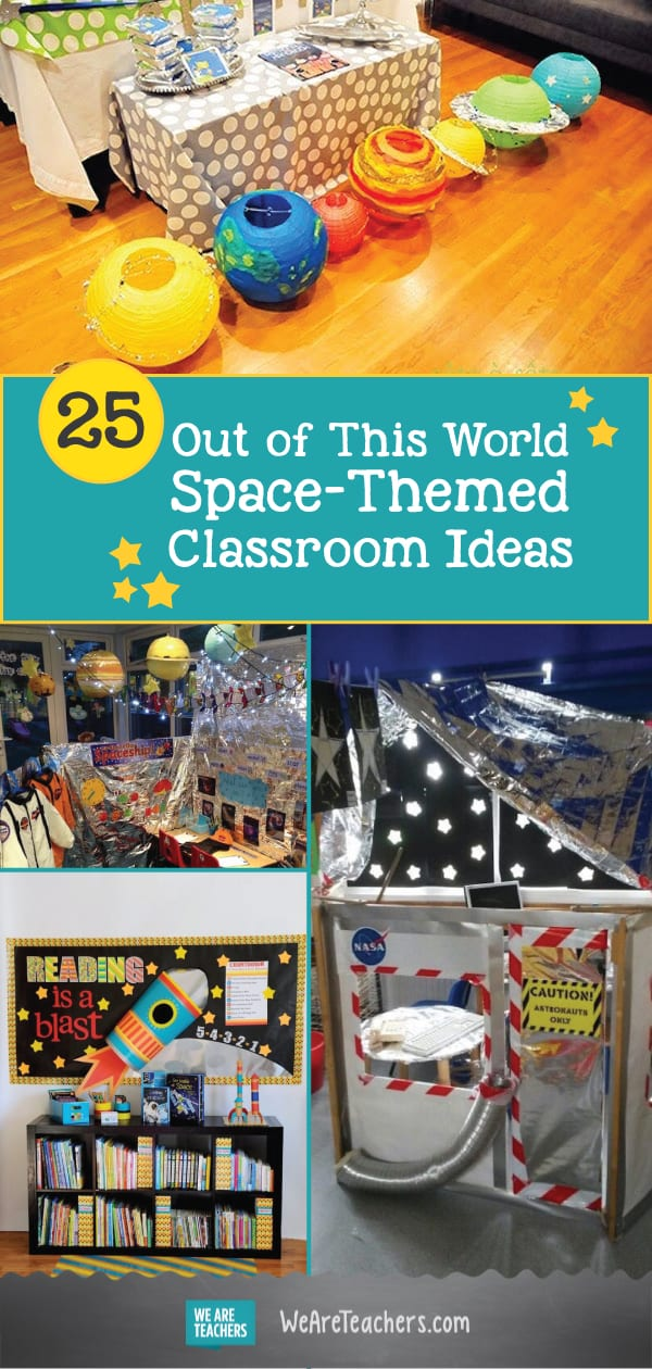 25 Out of This World Space-Themed Classroom Ideas