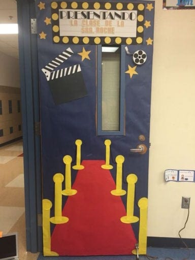 Cheap Spanish Classroom Decorations ~ Hollywood themed classroom ideas weareteachers