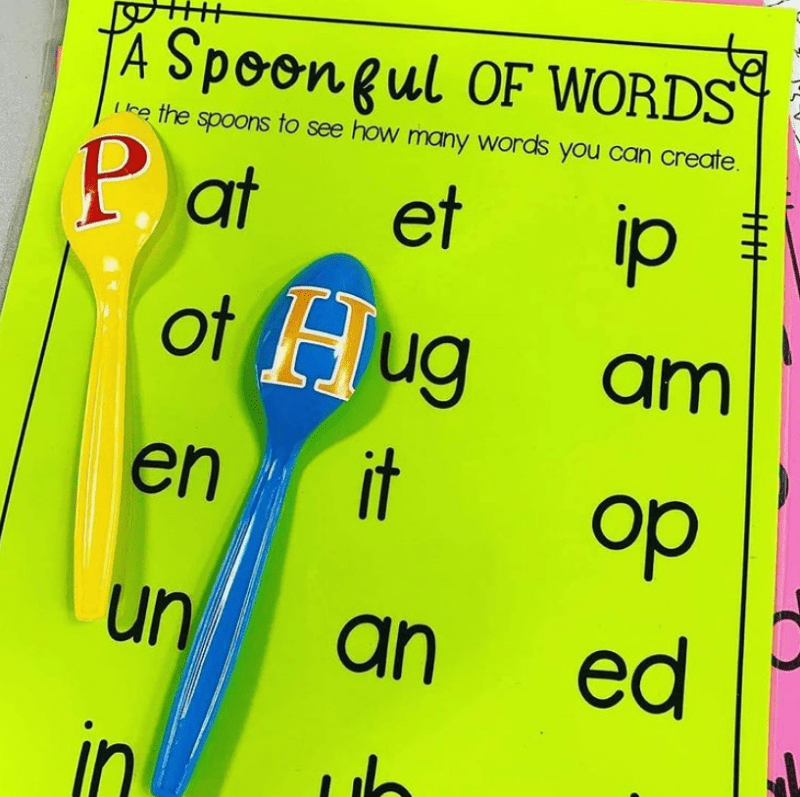 Spoon Up Some Phoneme Manipulation