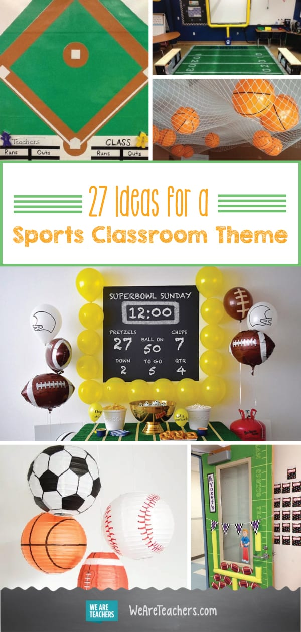 27 All-Star Ideas for a Sports-Themed Classroom