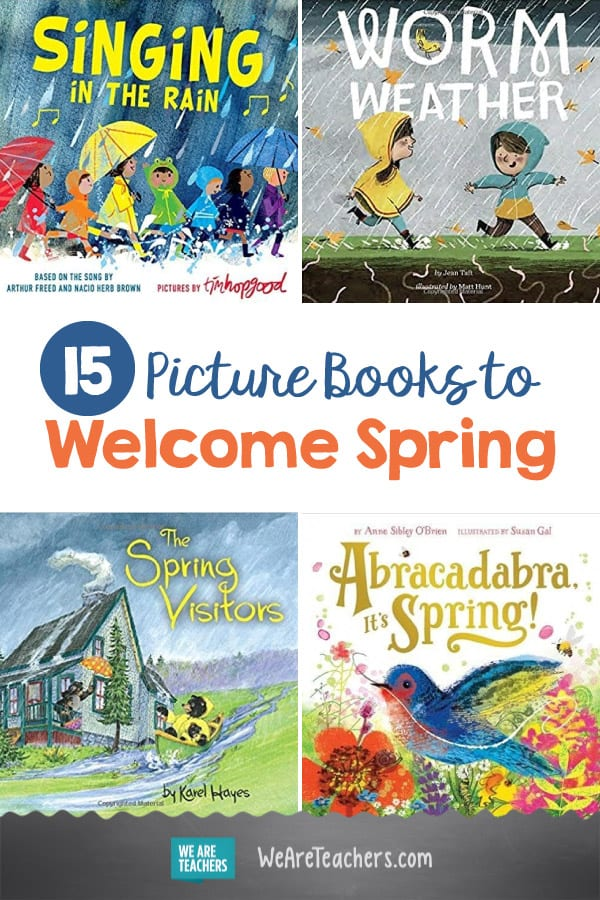 15 Picture Books to Welcome Spring