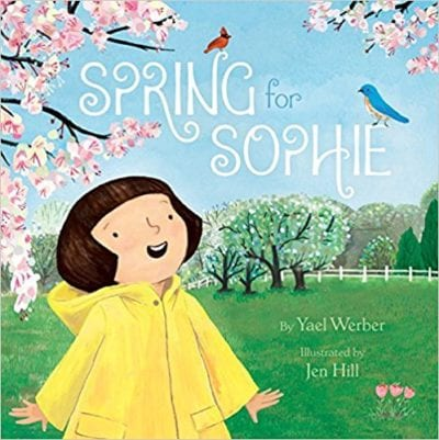 Book Cover for Spring for Sophie example of Spring Books for Kids