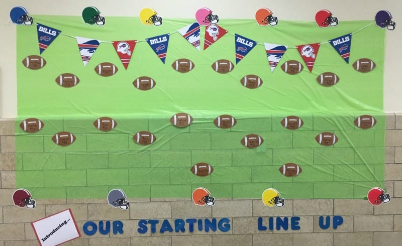 Football Bulletin Board