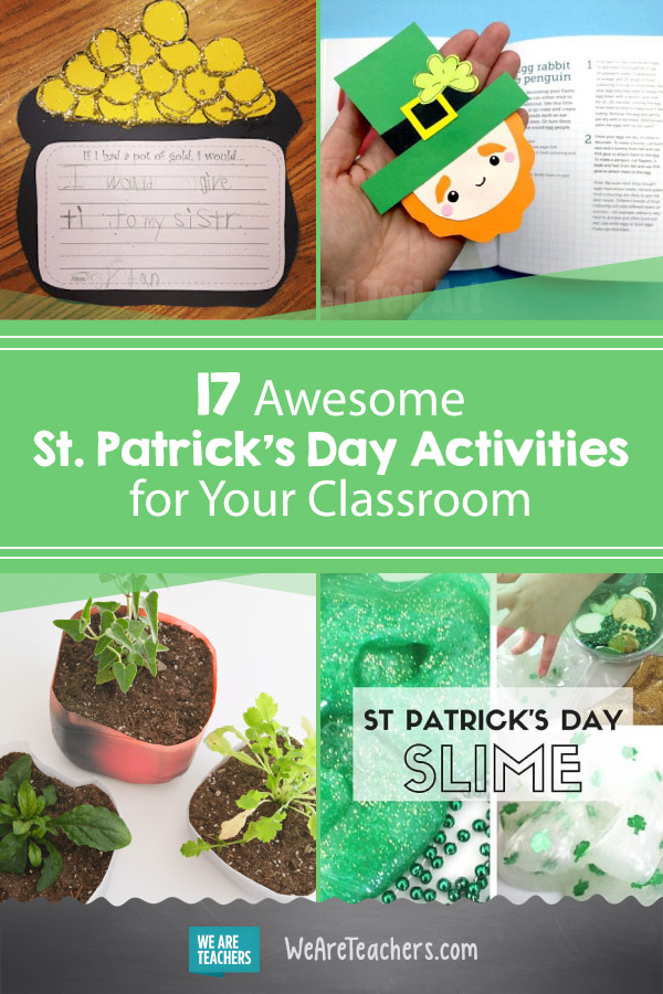 17 Awesome St. Patrick's Day Activities for Your Classroom
