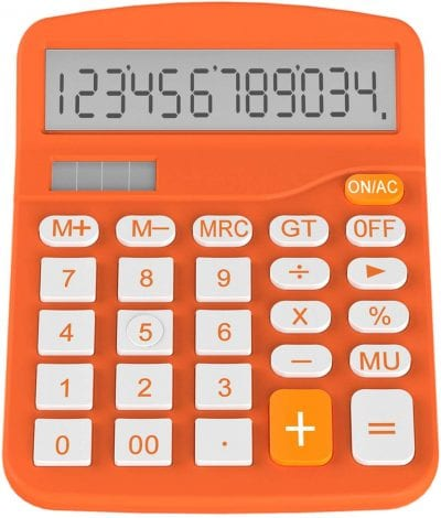 Orange calculator.