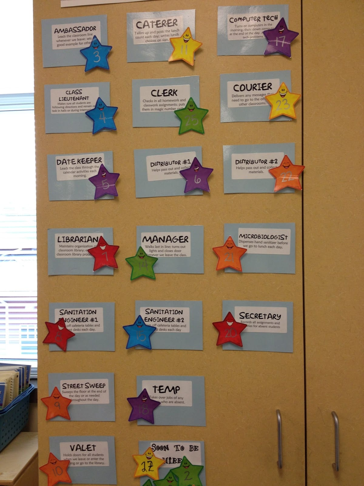 Classroom Job Charts - 38 Creative Ideas for Assigning