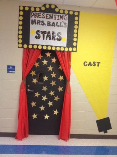 Foreign Language Classroom Decoration Ideas ~ Hollywood themed classroom ideas weareteachers