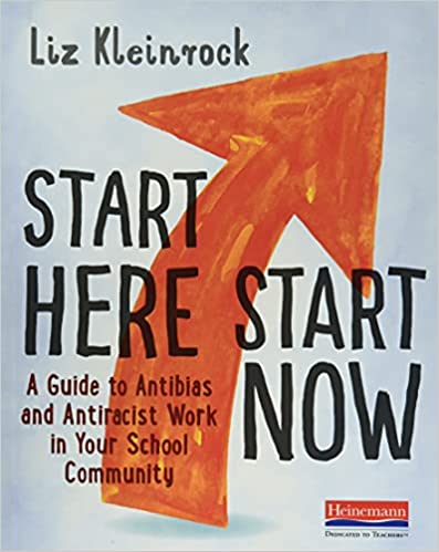 """Professional Development Book Cover for """"Start Here Start Now"""" by Liz Kleinrock"""
