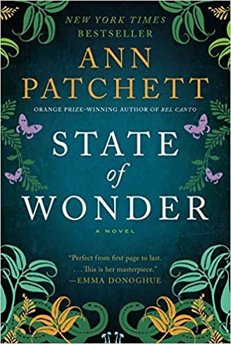 State of Wonder book cover.