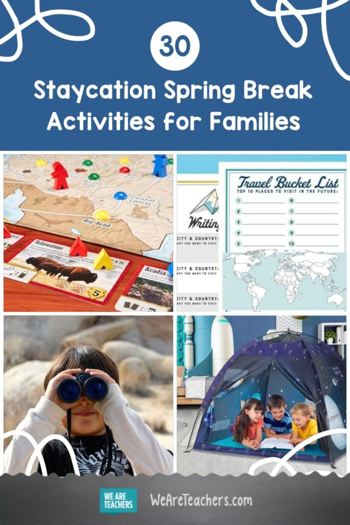 The Big List of Staycation Spring Break Activities for Families
