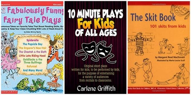 Three books of plays for kids
