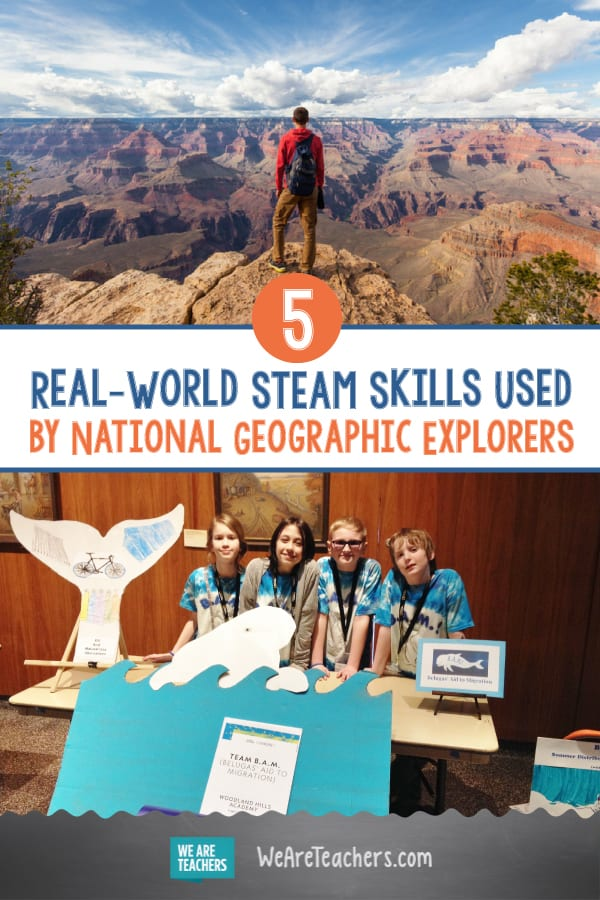 5 Real-World STEAM Skills Used by National Geographic Explorers