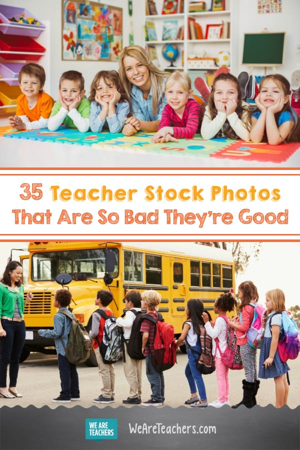 35 Teacher Stock Photos That Are So Bad They're Good
