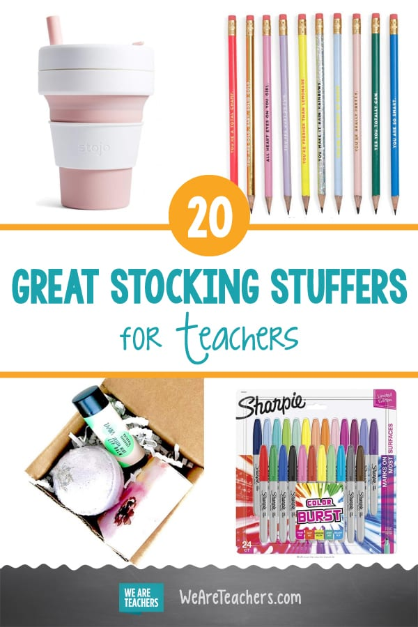 20 Great Stocking Stuffers for Teachers