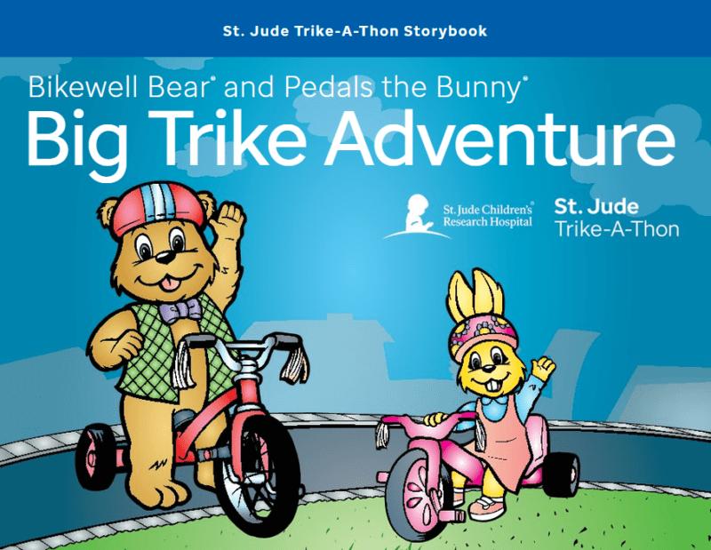 St. Jude Bike Trike Adventure DVD Cover Image