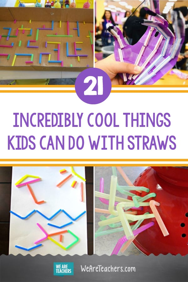21 Incredibly Cool Things Kids Can Do With Straws