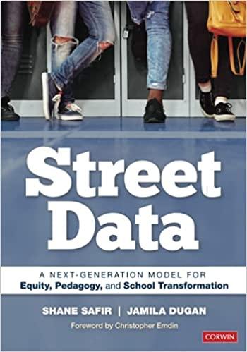 "Professional development book cover for ""Street Data"" by Shane Safir and Jamila Dugan"