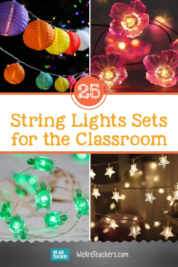 25 of Our Favorite String Lights Sets for the Classroom