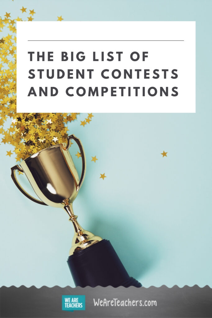 The Big List of Student Contests and Competitions