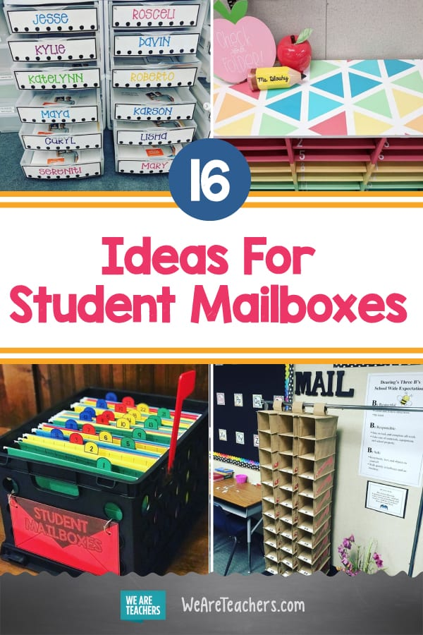 16 Ideas For Student Mailboxes That Fit Any Budget and Classroom