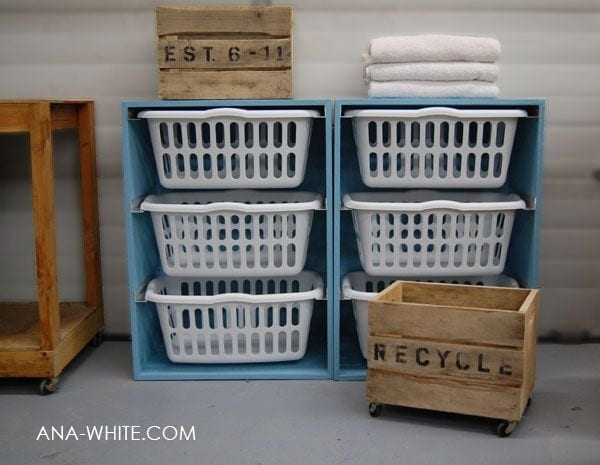Student Storage Laundry Basket