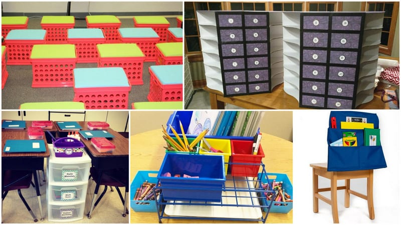 3a1ab85f196b Student Storage Ideas for Classroom Supplies and Equipment
