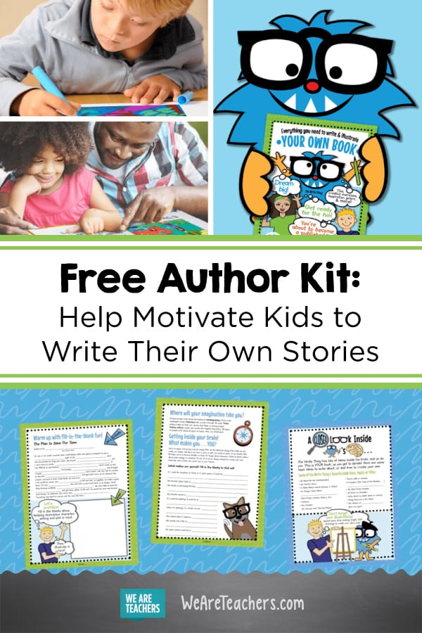 This Free Author Kit is Exactly What Will Motivate Kids Right Now