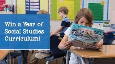 Win a Full Year of Social Studies Curriculum Plus an Apple Watch