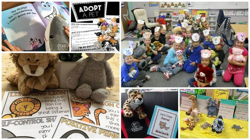 Stuffed Animals in the Classroom