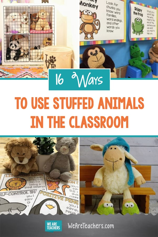 16 Clever and Cozy Ways to Use Stuffed Animals in the Classroom