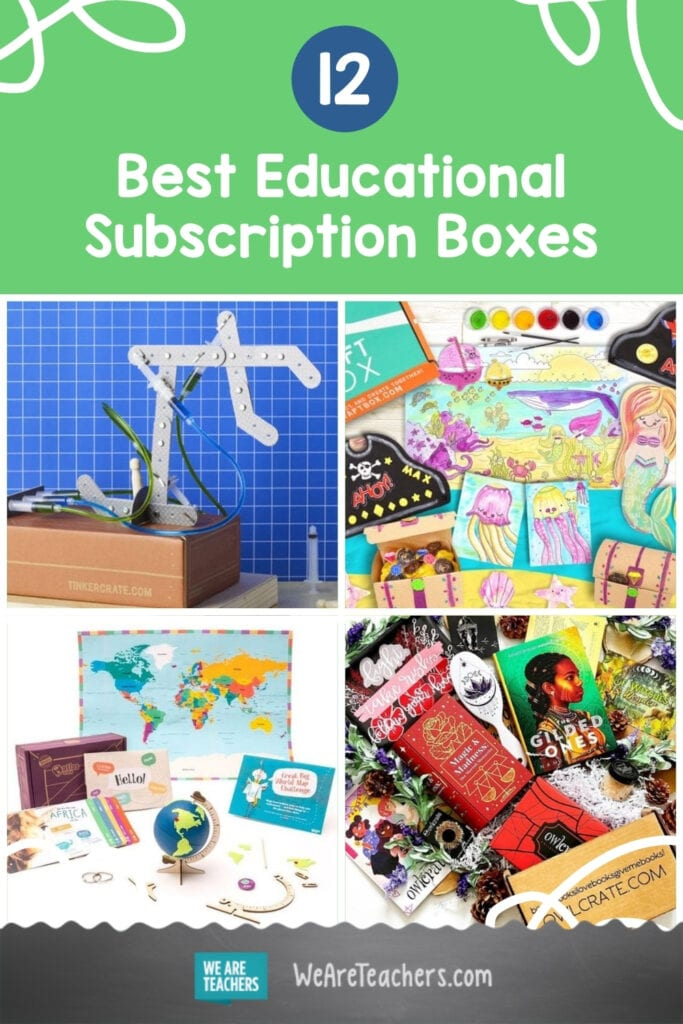 12 Best Educational Subscription Boxes For Kids And Teens