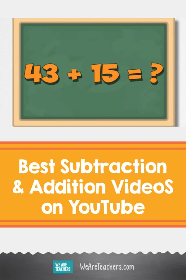 Our Favorite Subtraction and Addition Videos on YouTube