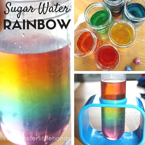 Sugar Water - 20 Best Kindergarten Science Activities