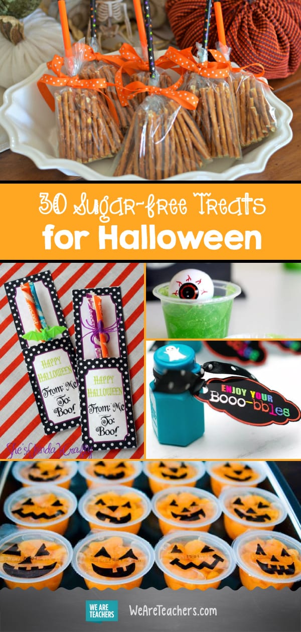 30 Sugar-Free Treats for Halloween