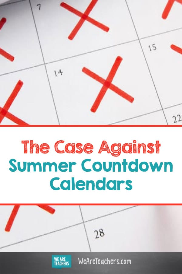 The Case Against Summer Countdown Calendars