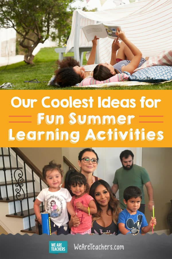 Our Coolest Ideas for Fun Summer Learning Activities