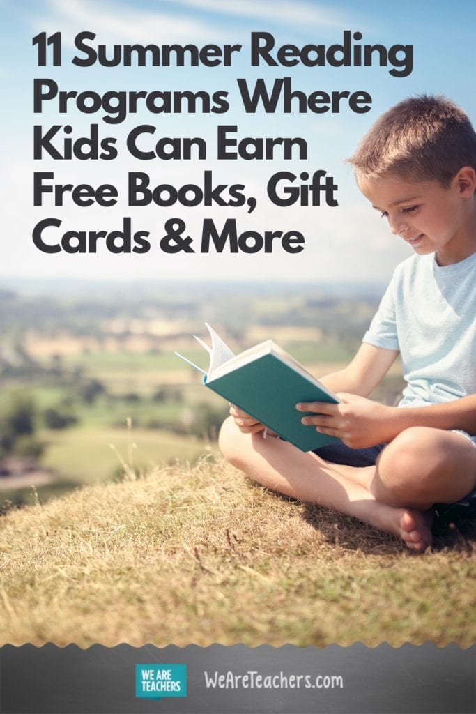 11 Summer Reading Programs Where Kids Can Earn Free Books, Gift Cards & More