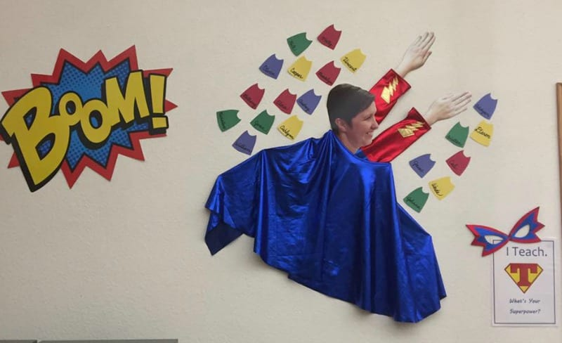 Superhero Teacher