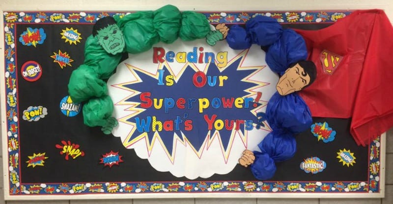 Superpowers Bulletin Board