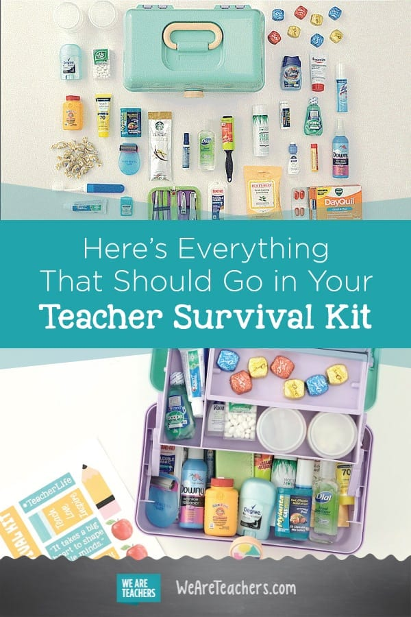 Here's Everything That Should Go in Your Teacher Survival Kit