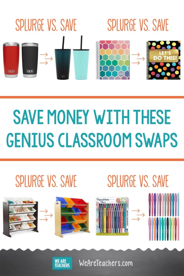 Save Money With These Genius Classroom Swaps