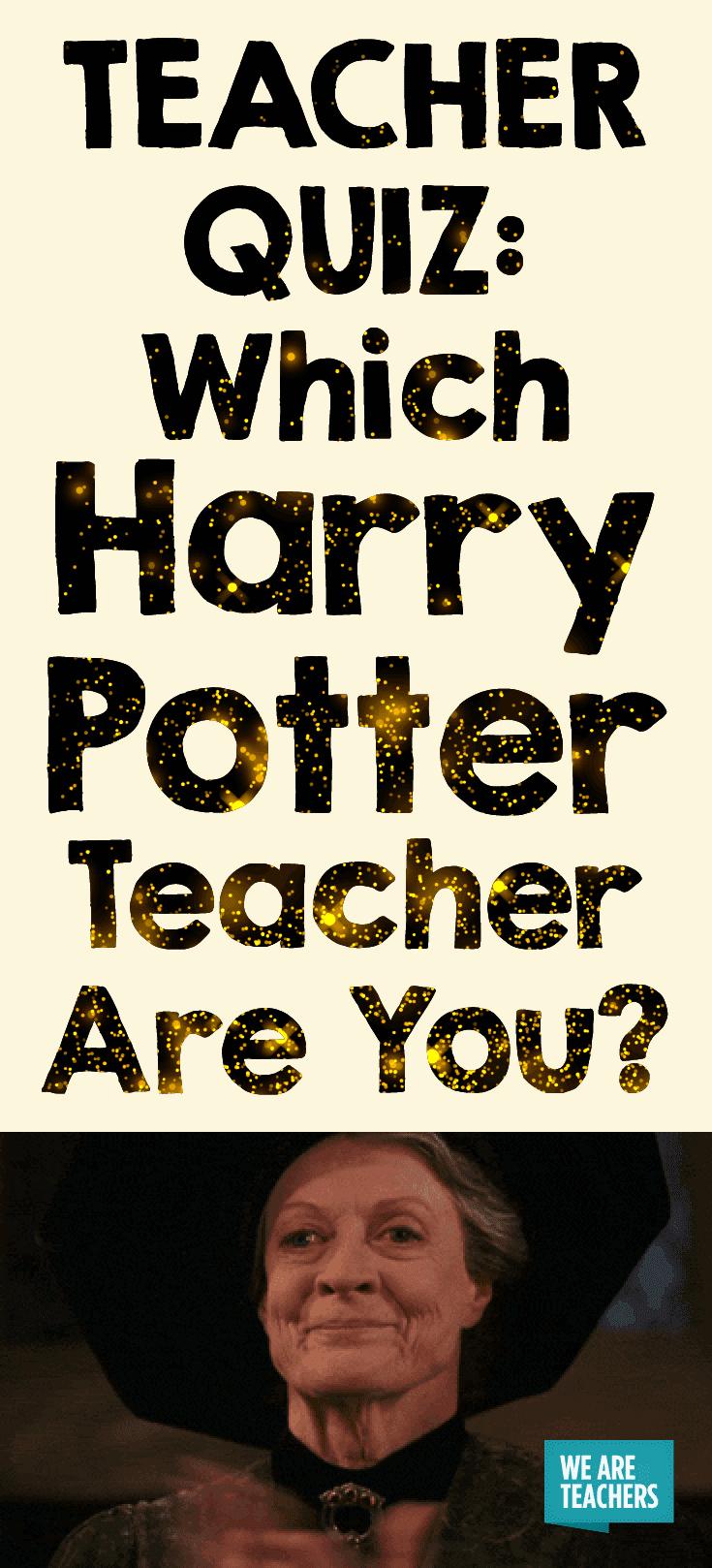 TEACHER QUIZ: Which Harry Potter Teacher Are You?