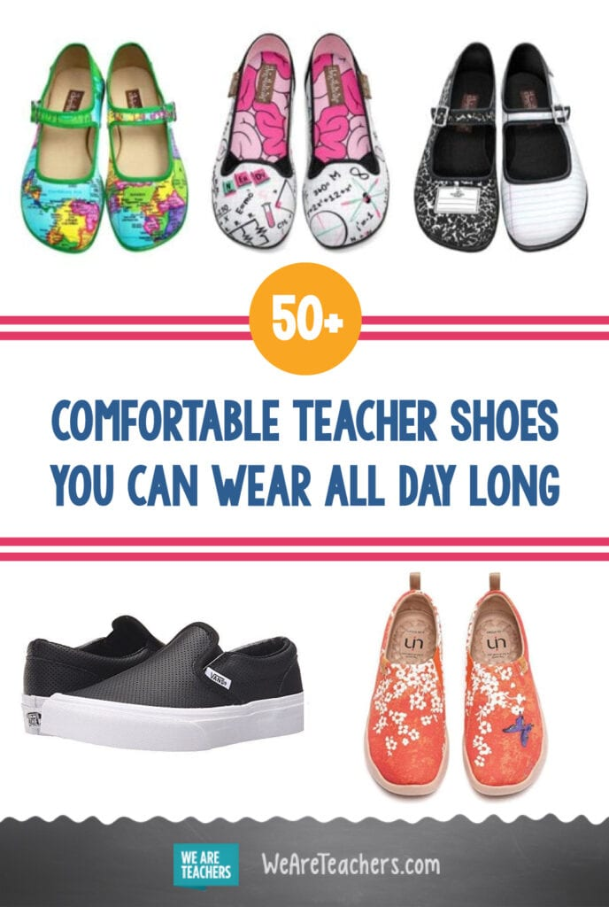 50+ Comfortable Teacher Shoes You Can Wear All Day Long