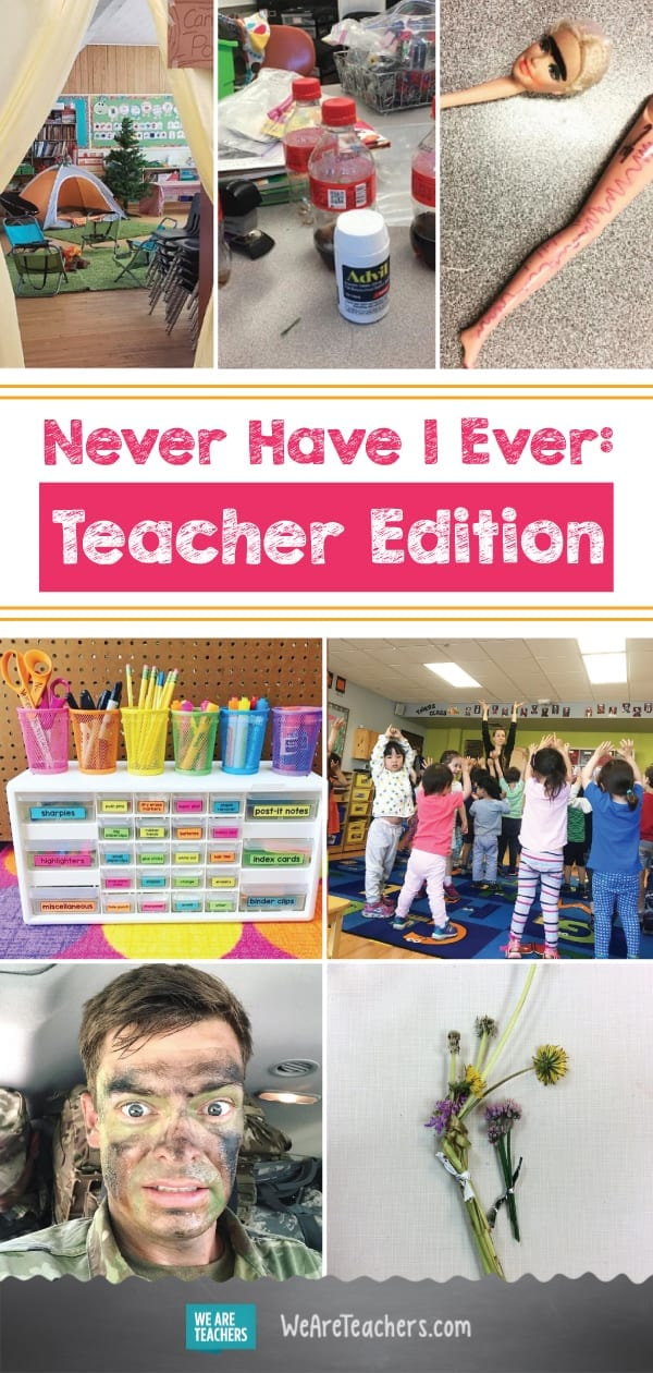 Never Have I Ever: Teacher Edition
